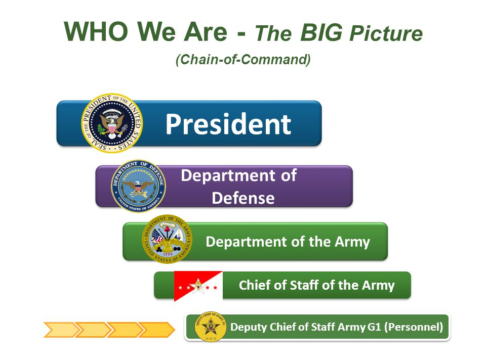 WHO We Are - The BIG Picture (Chain-of-Command)