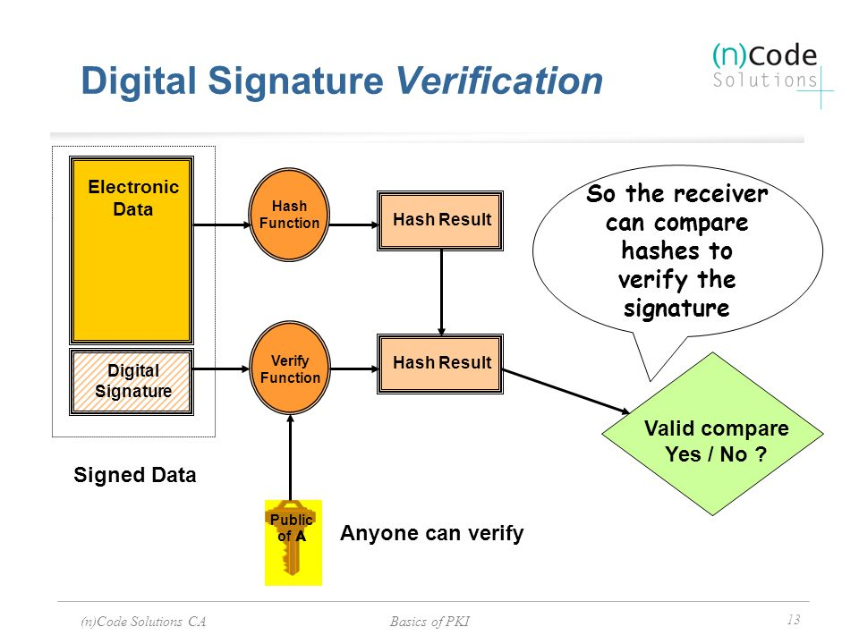 Digital Signature Verification