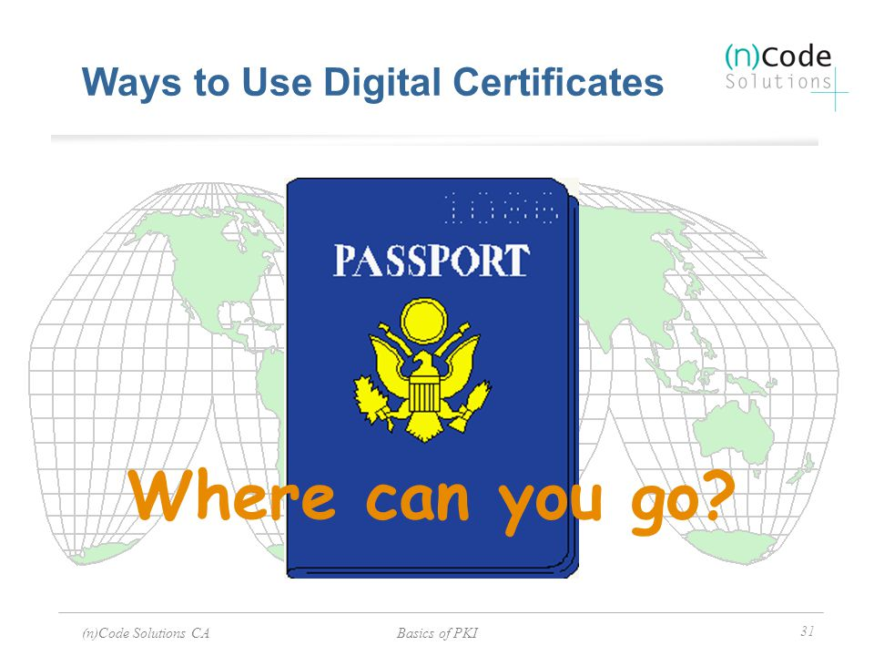 Ways to Use Digital Certificates
