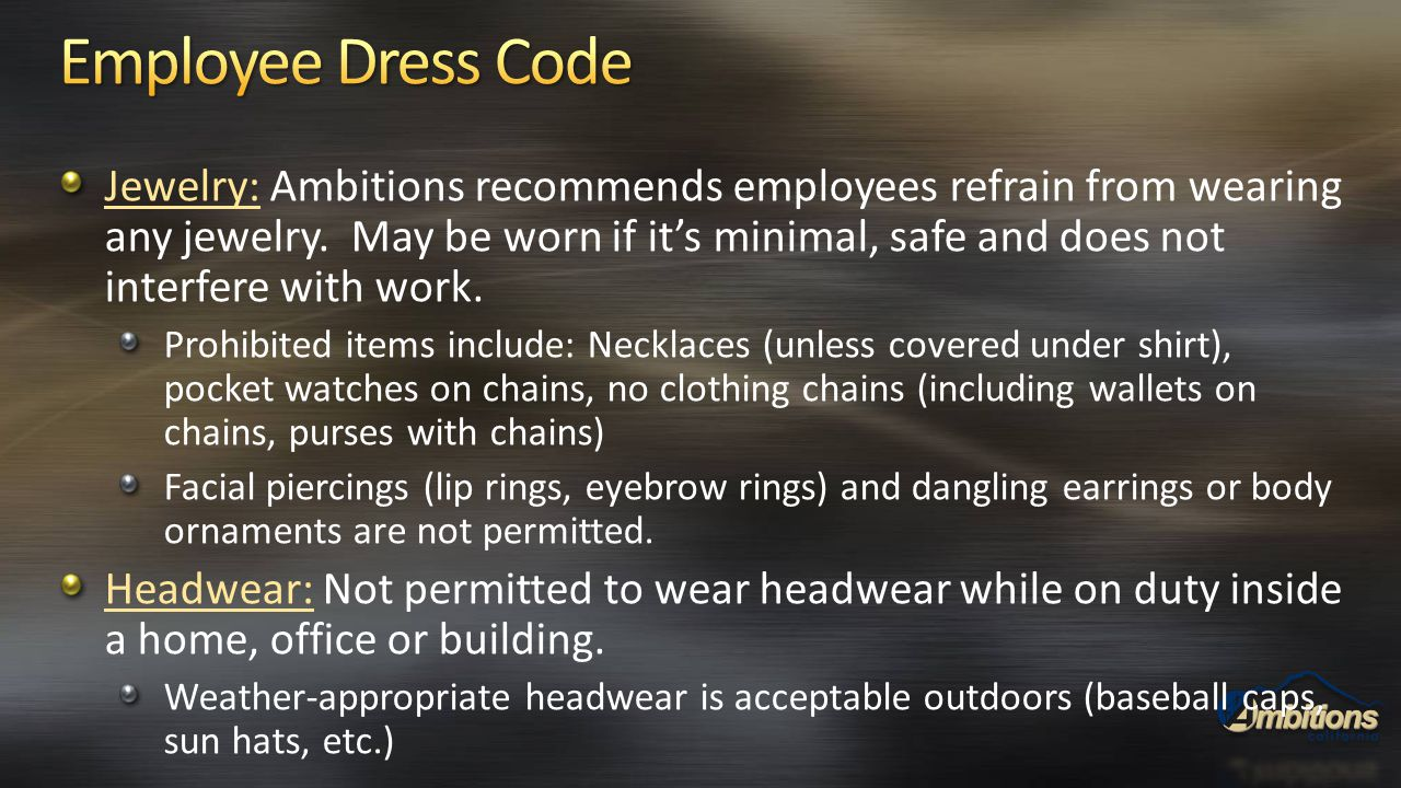 Employee Dress Code