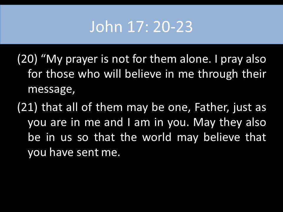 John 17: 20-23