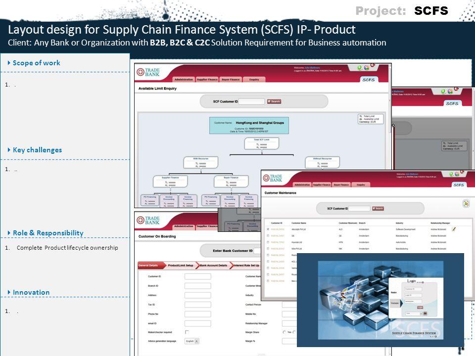 Project: SCFS