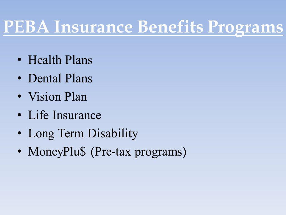 PEBA Insurance Benefits Programs