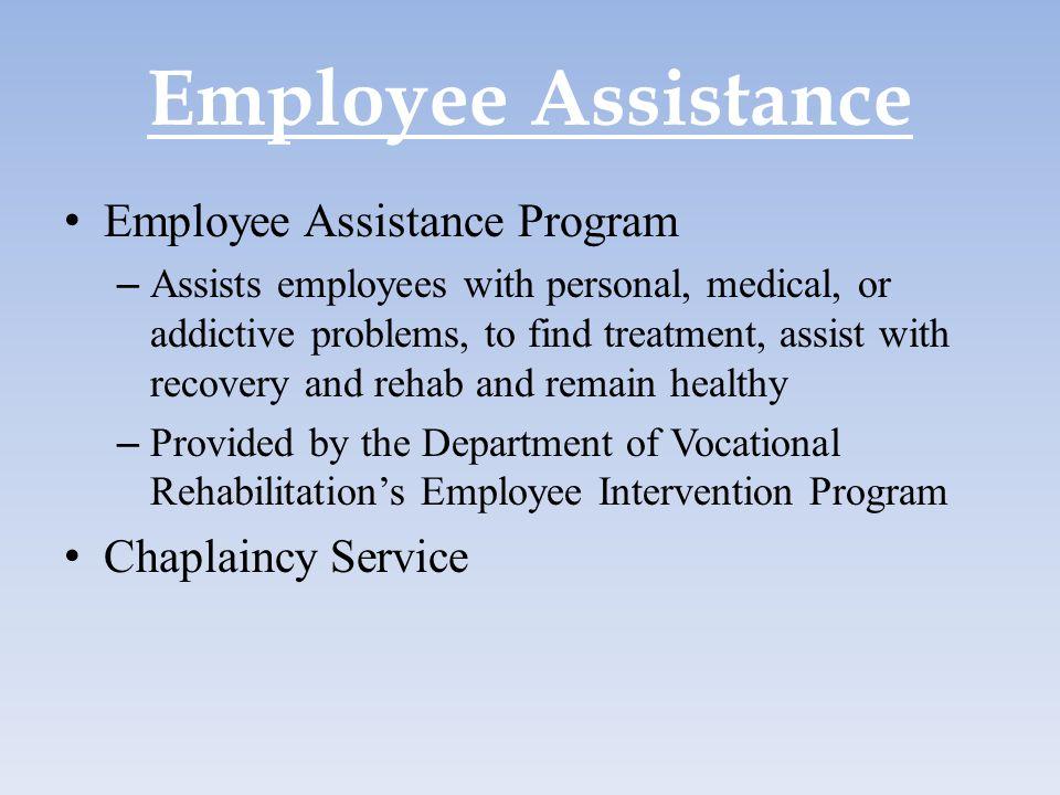 Employee Assistance Employee Assistance Program Chaplaincy Service