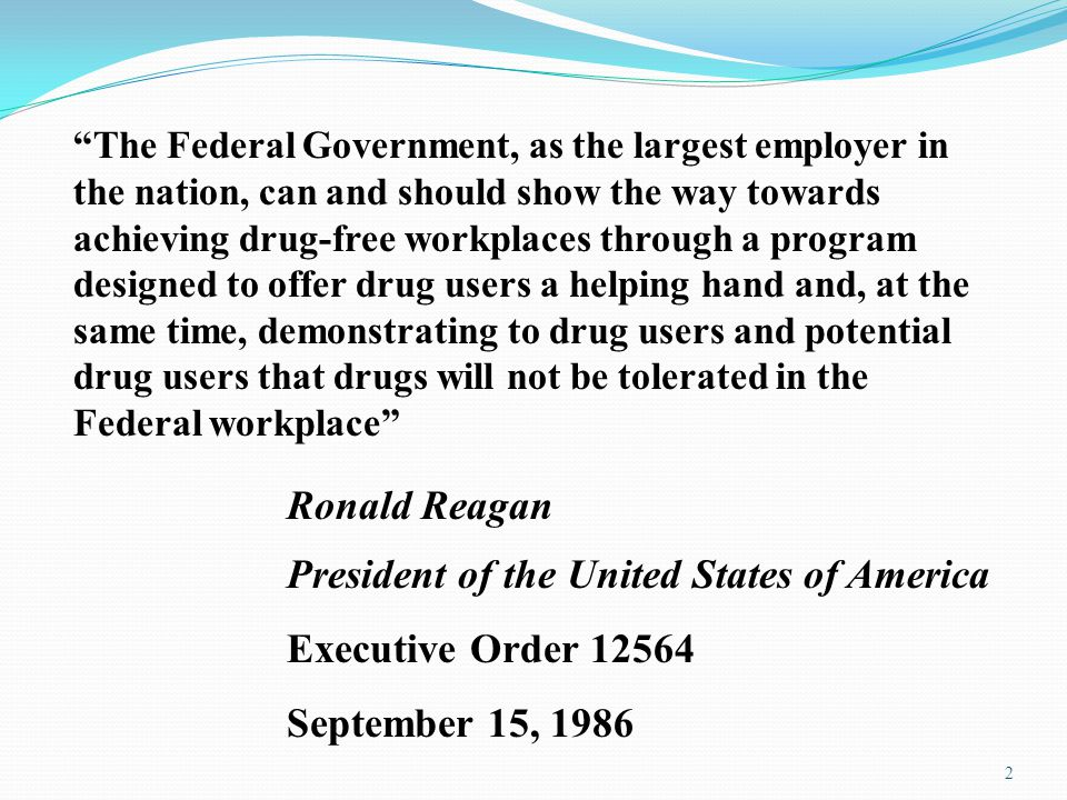 Ronald Reagan President of the United States of America