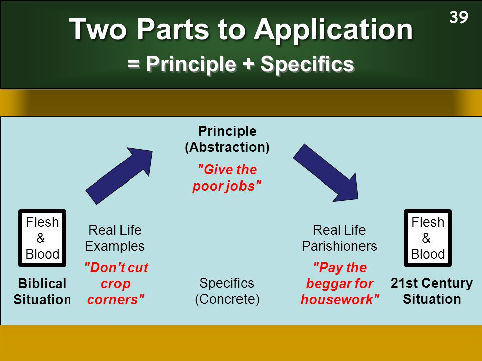 Two Parts to Application