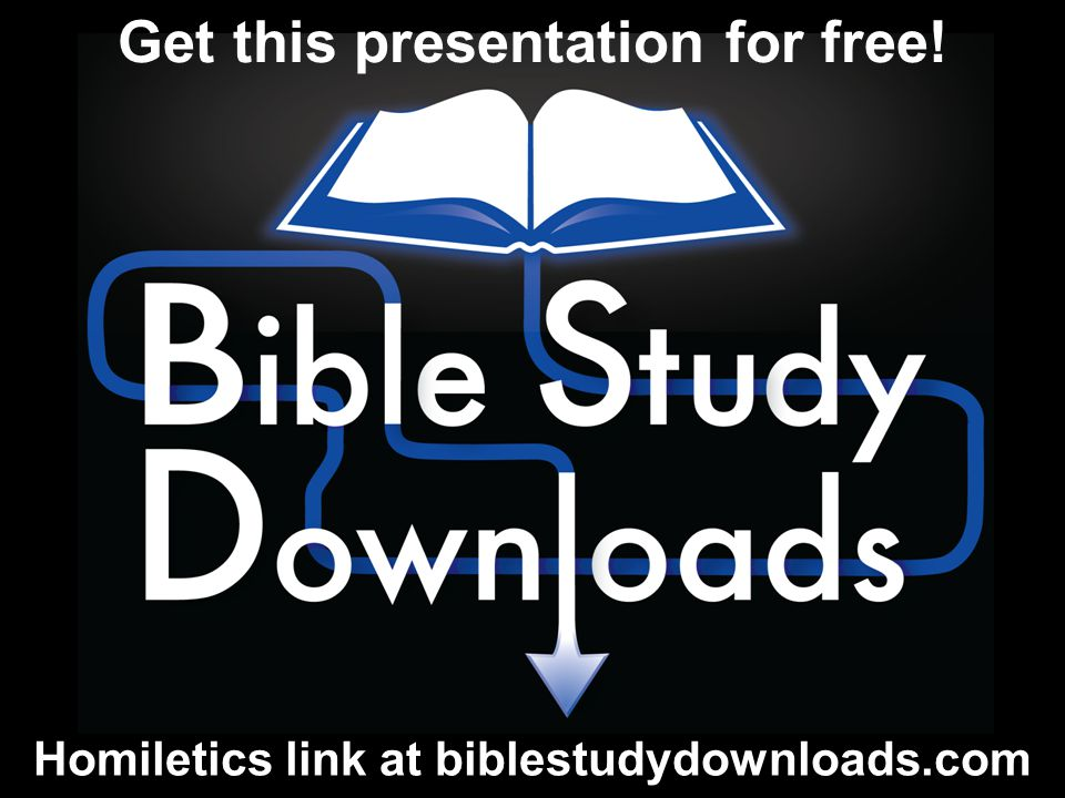 Homiletics link at biblestudydownloads.com