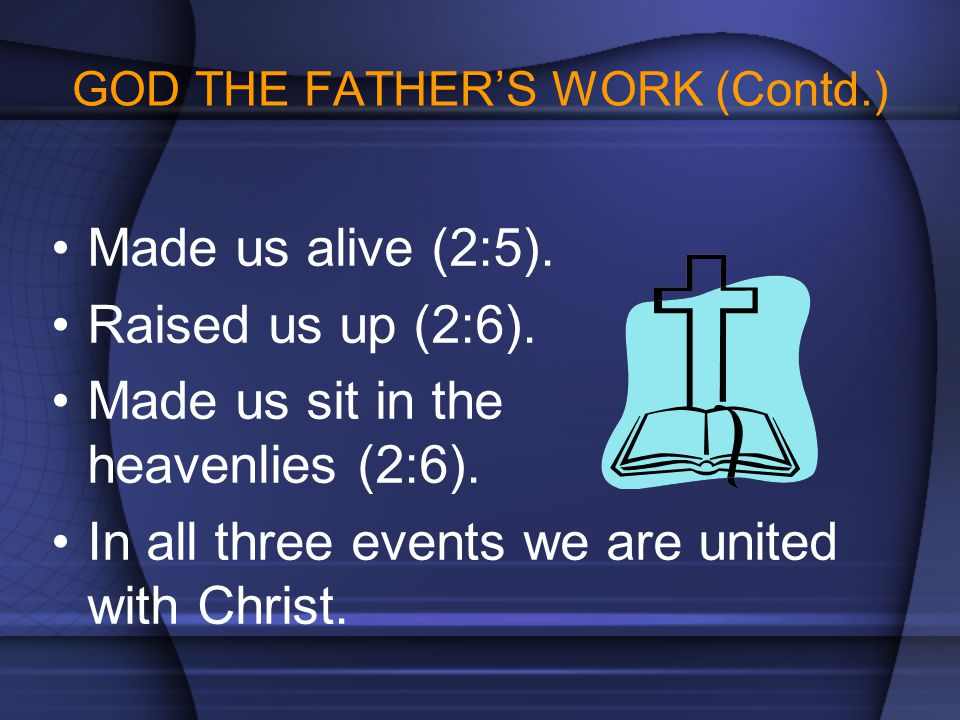 GOD THE FATHER'S WORK (Contd.)
