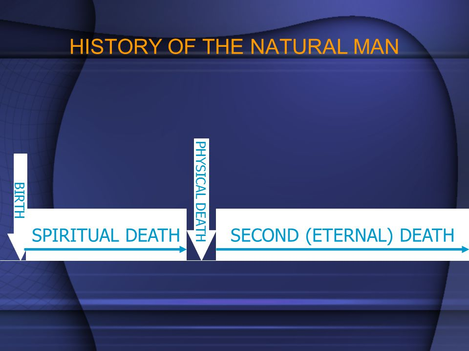 HISTORY OF THE NATURAL MAN