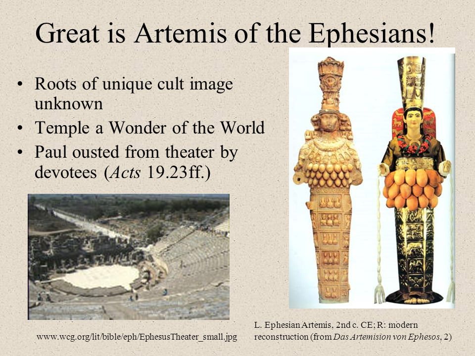 Great is Artemis of the Ephesians!