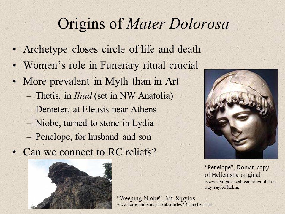 Origins of Mater Dolorosa