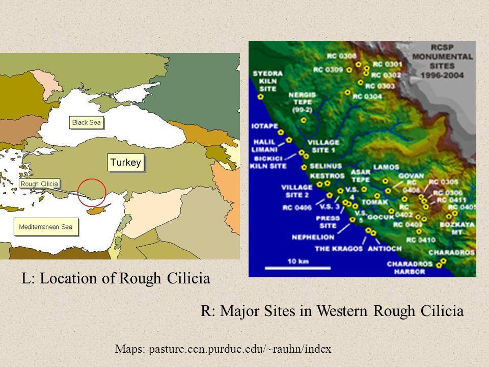 L: Location of Rough Cilicia