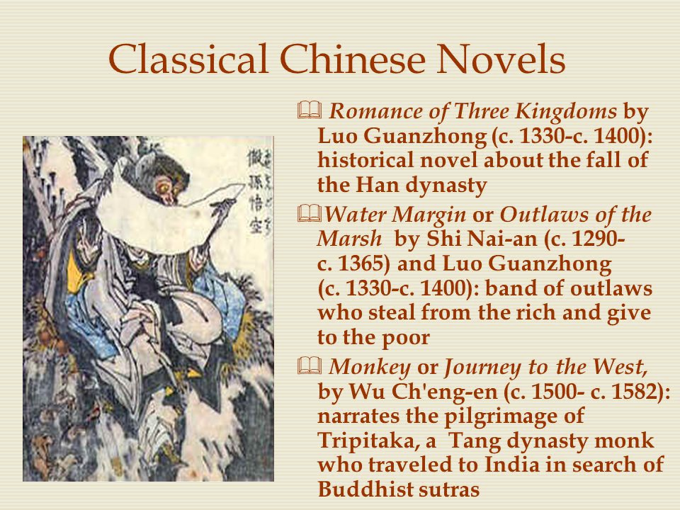 Classical Chinese Novels