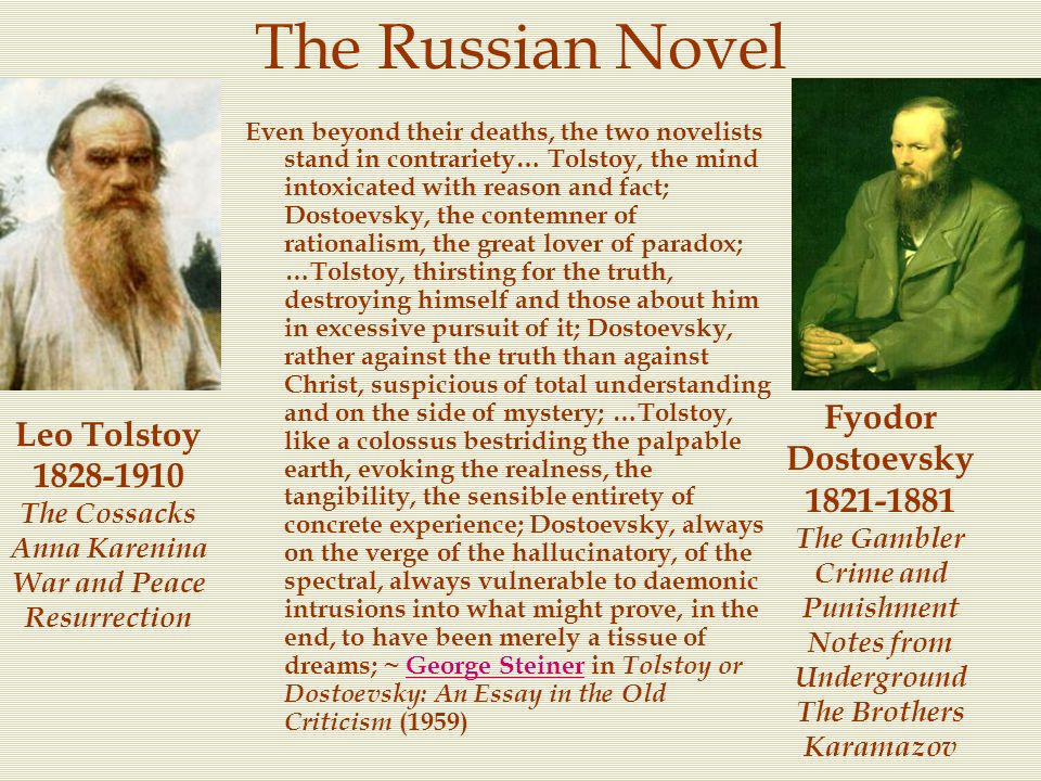 The Russian Novel