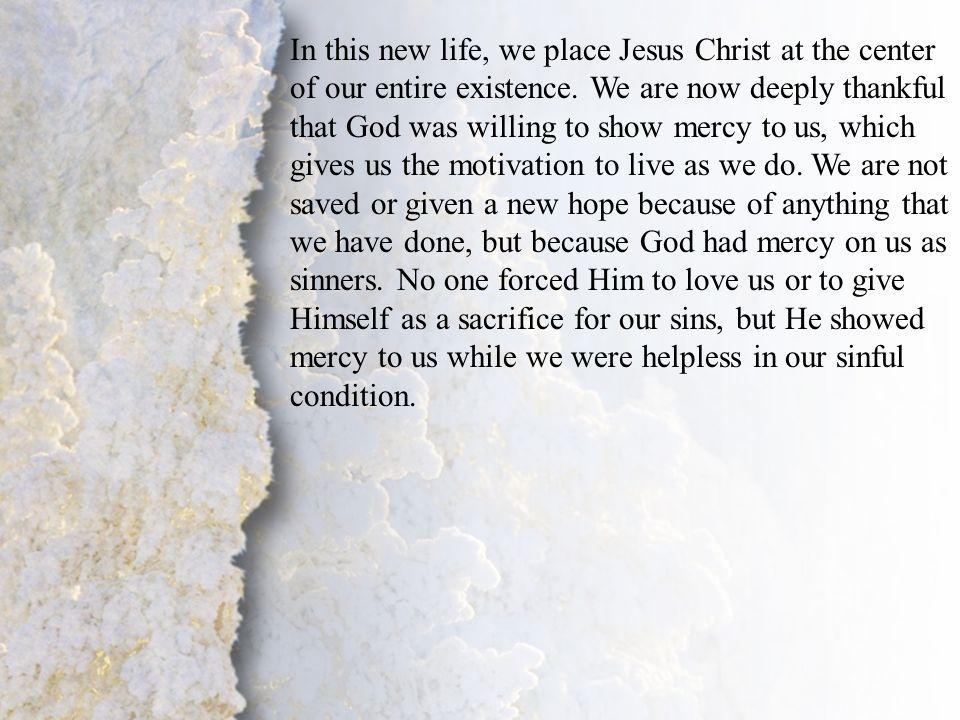 IV. Transformation by God (A-B)