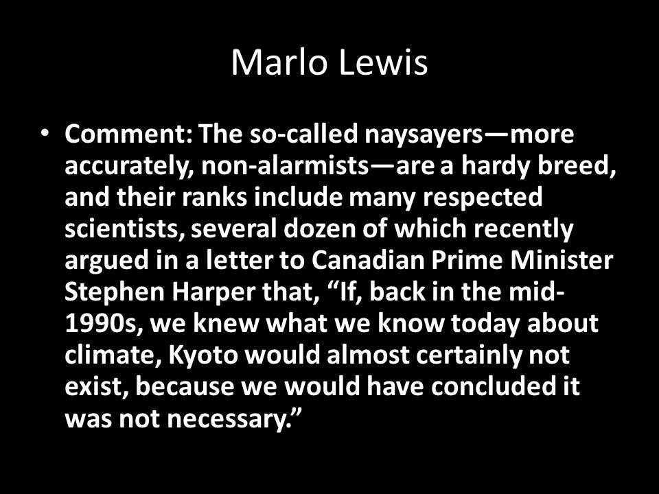 Marlo Lewis
