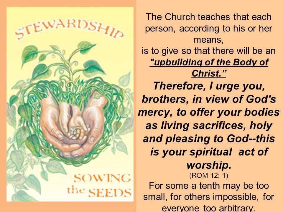 upbuildinq of the Body of Christ.