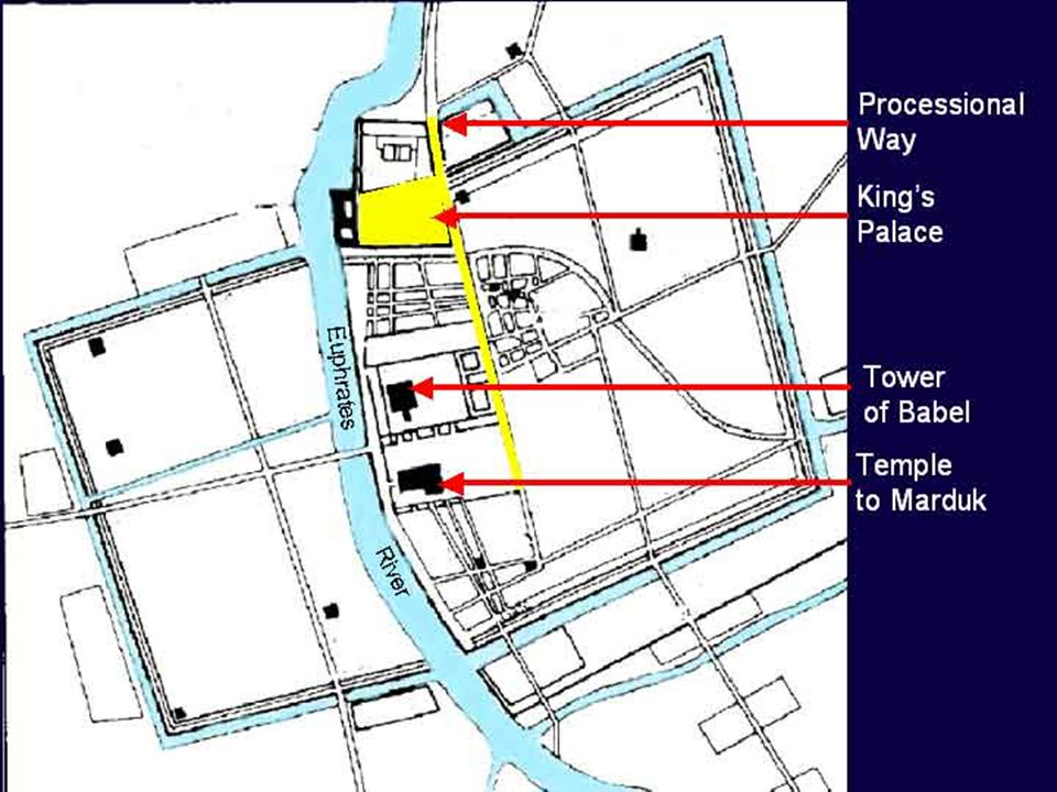 Babylon Inner City Map Acts 17:11 1 Thes 5:21