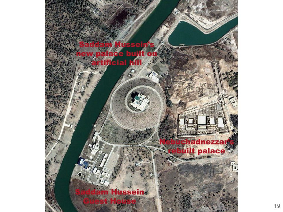 Saddam's building program