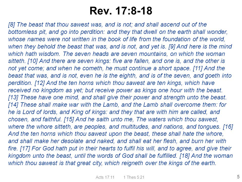 Rev. 17:8-18