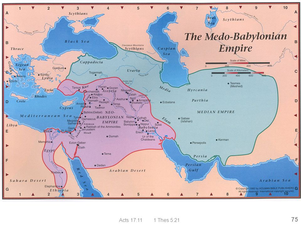 Medo-Babylonian Empire