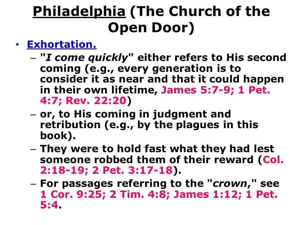 Philadelphia (The Church of the Open Door)