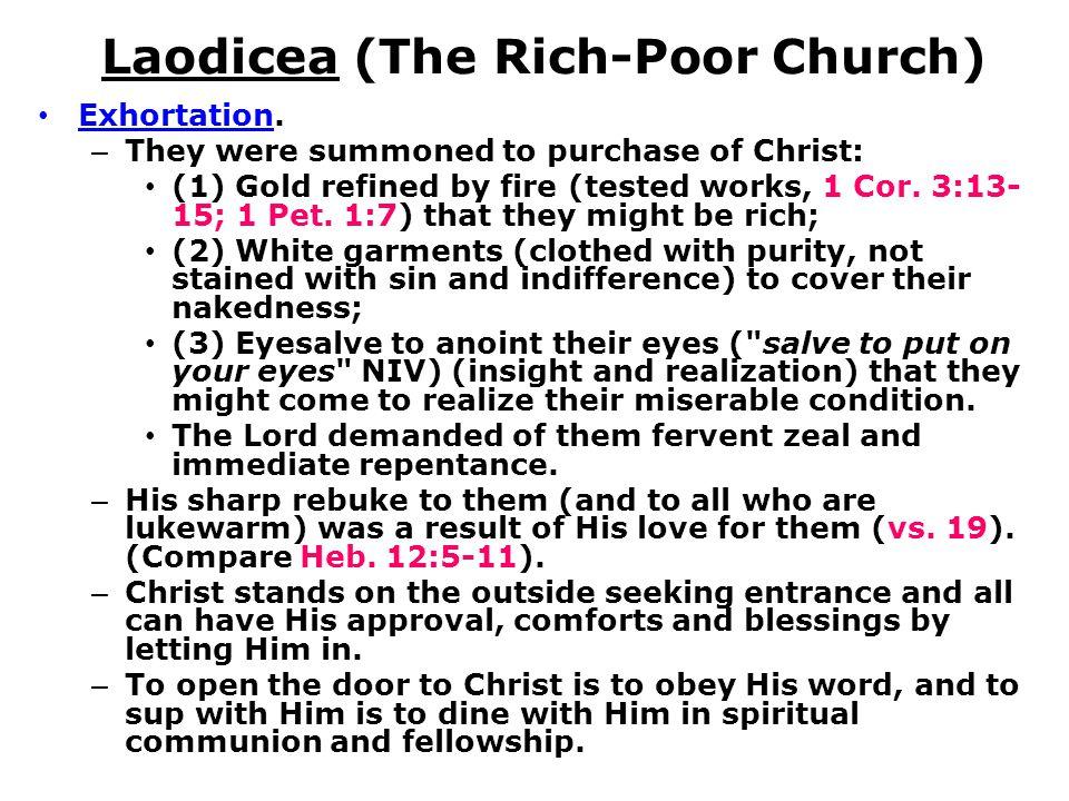 Laodicea (The Rich-Poor Church)