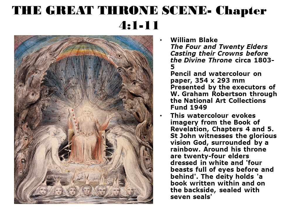 THE GREAT THRONE SCENE- Chapter 4:1-11