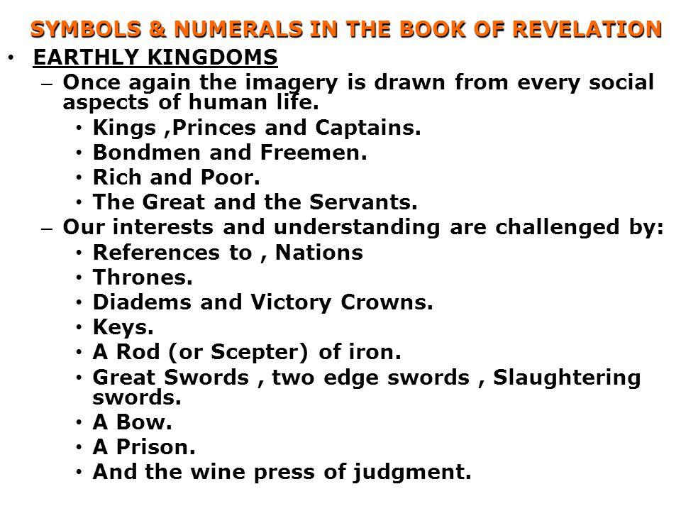 SYMBOLS & NUMERALS IN THE BOOK OF REVELATION