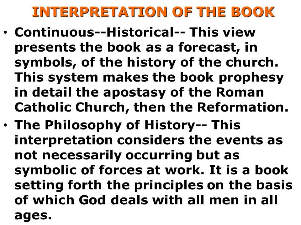 INTERPRETATION OF THE BOOK