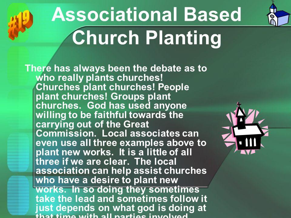 Associational Based Church Planting