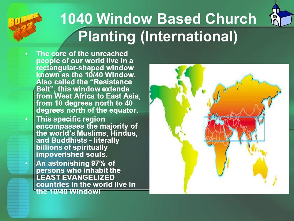 1040 Window Based Church Planting (International)