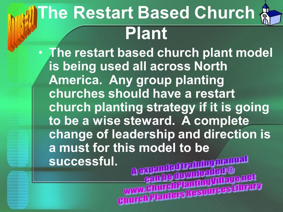The Restart Based Church Plant