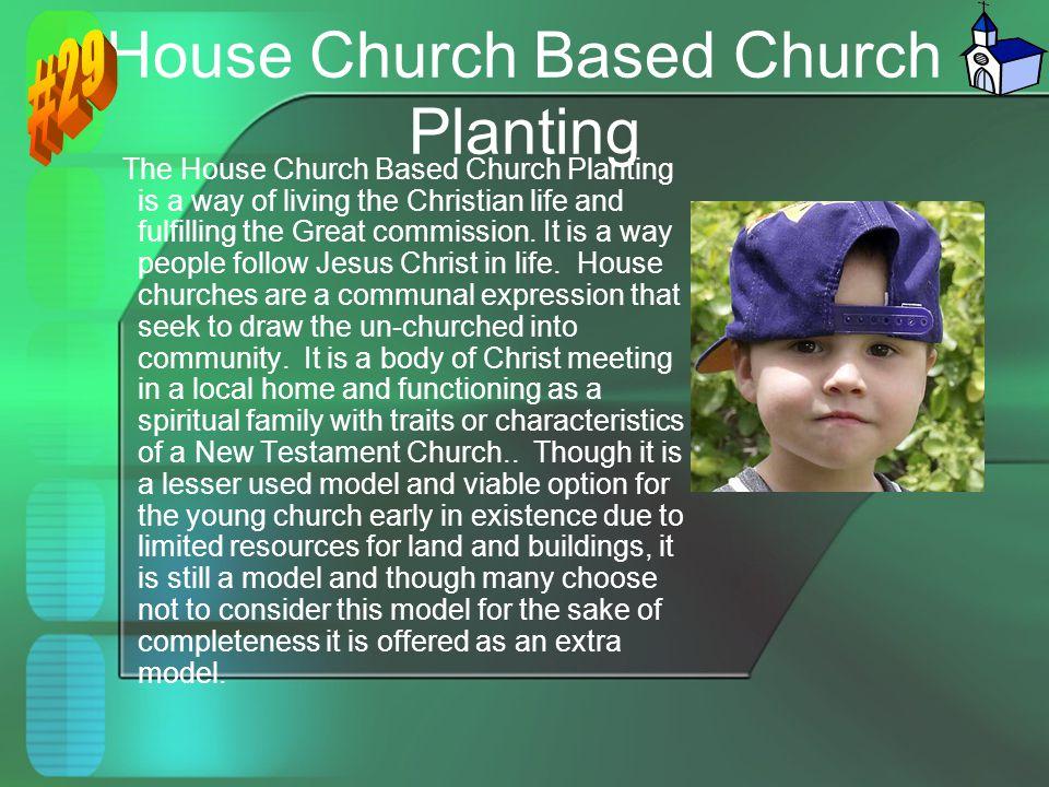 House Church Based Church Planting