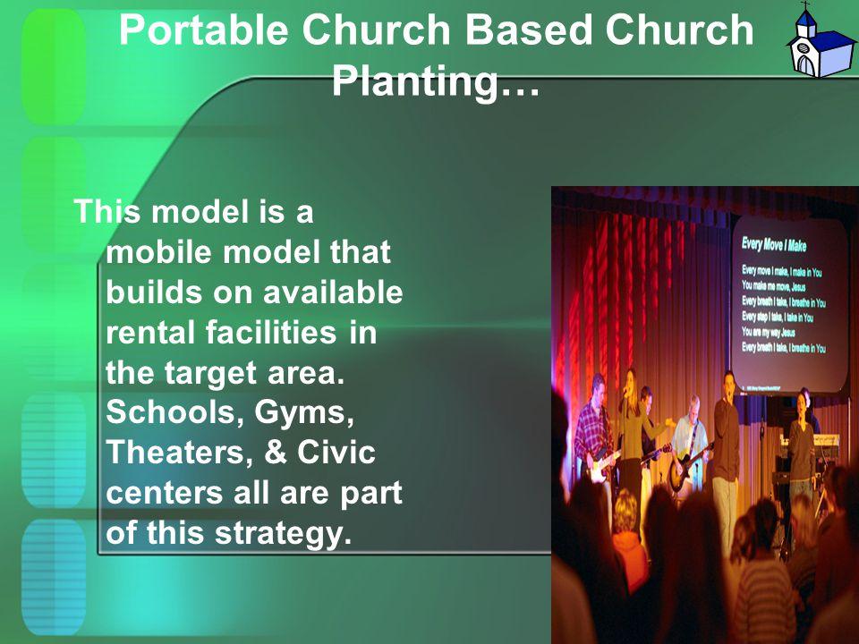 Portable Church Based Church Planting…