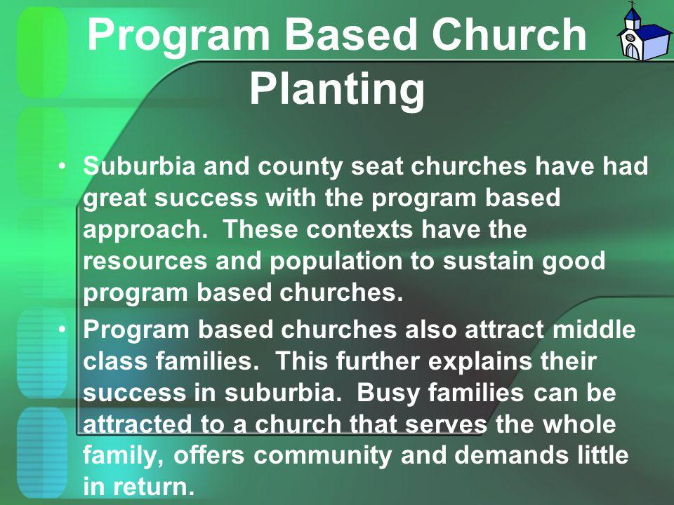 Program Based Church Planting