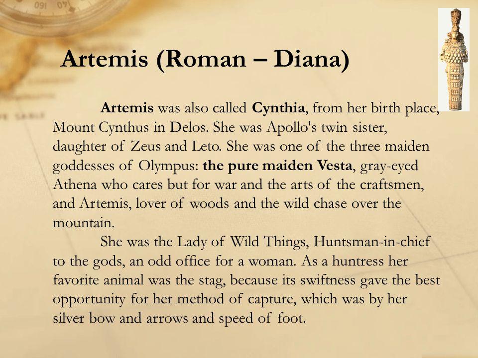 Artemis (Roman – Diana)