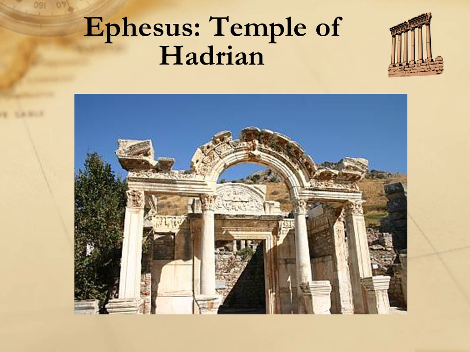 Ephesus: Temple of Hadrian