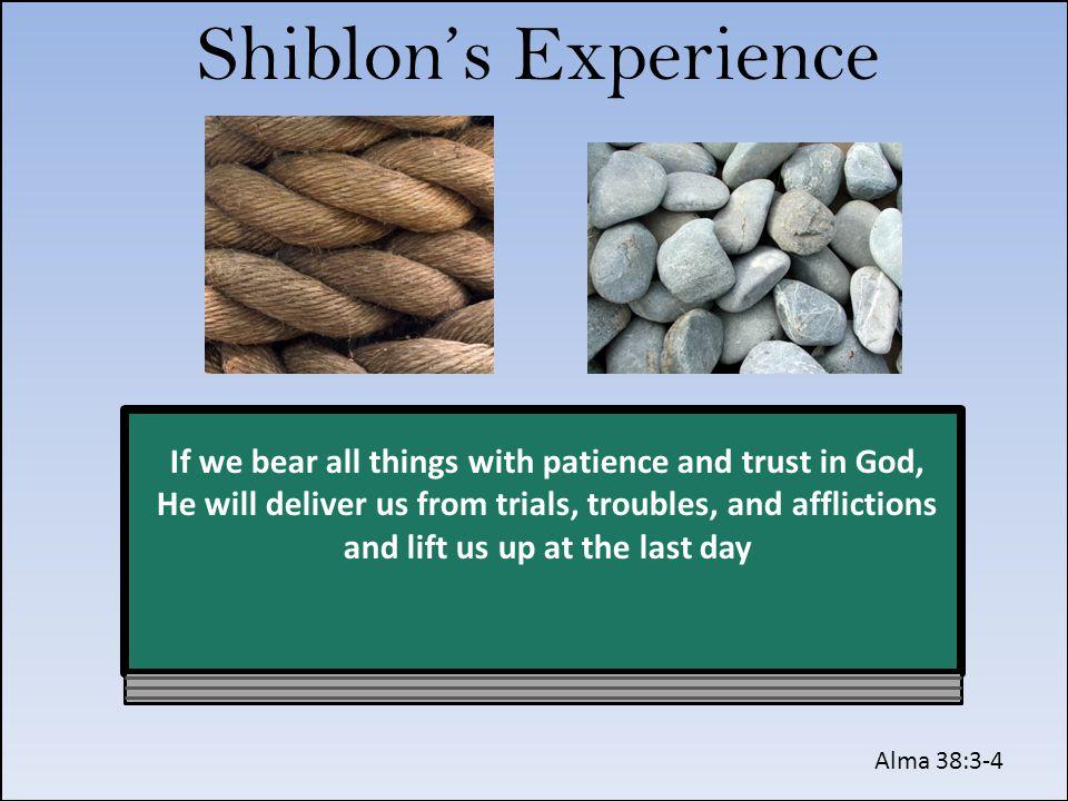 Shiblon's Experience