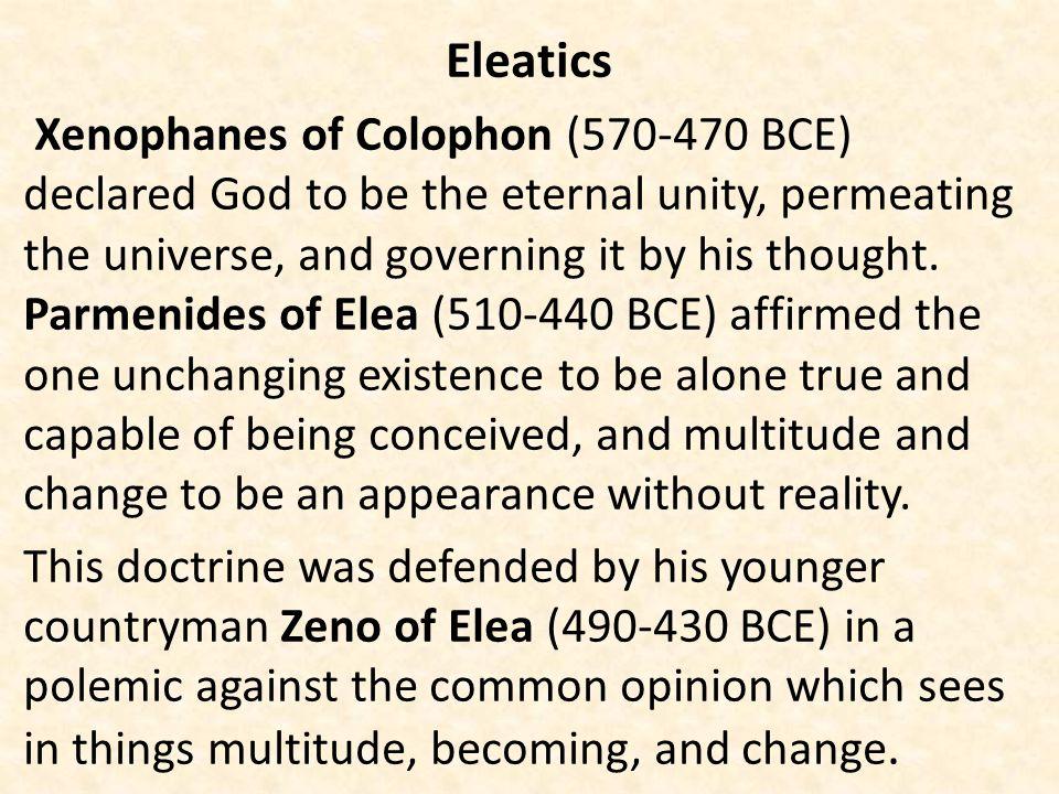 Eleatics