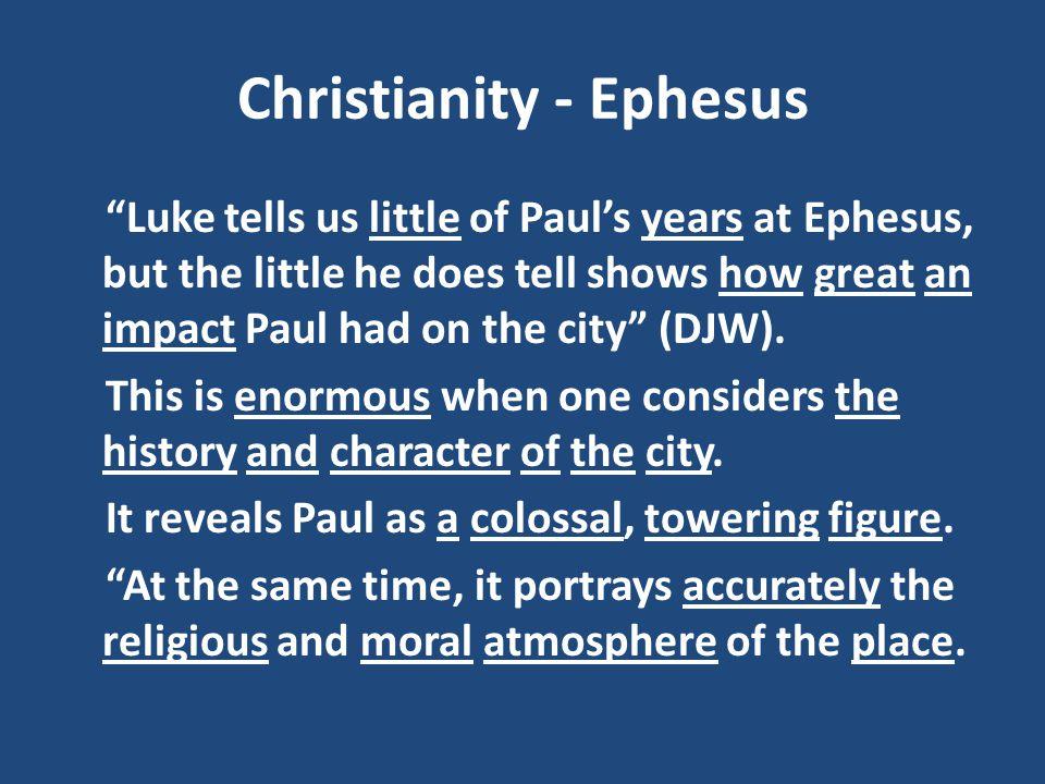 Christianity - Ephesus