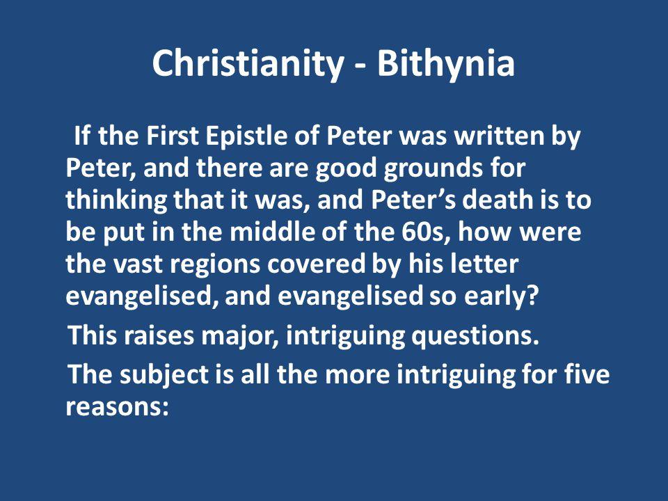 Christianity - Bithynia