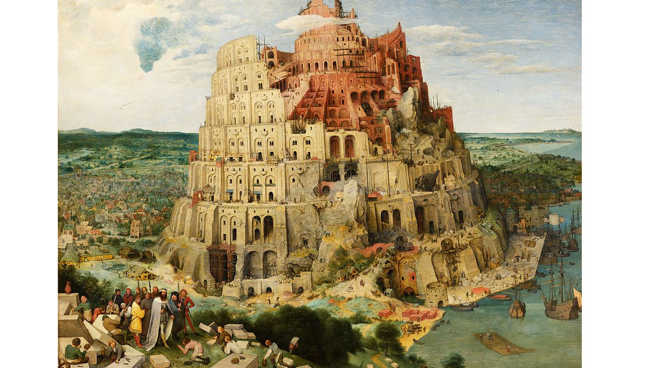 Nimrod, one time he wanted to achieve a way to go to Heaven without any atonement, so he built a super tower.