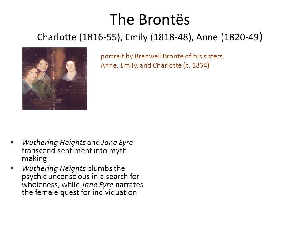 The Brontës Charlotte (1816-55), Emily (1818-48), Anne (1820-49)