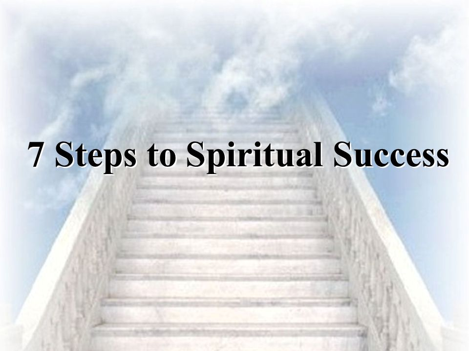 Steps To Spiritual Success on 12 disciples
