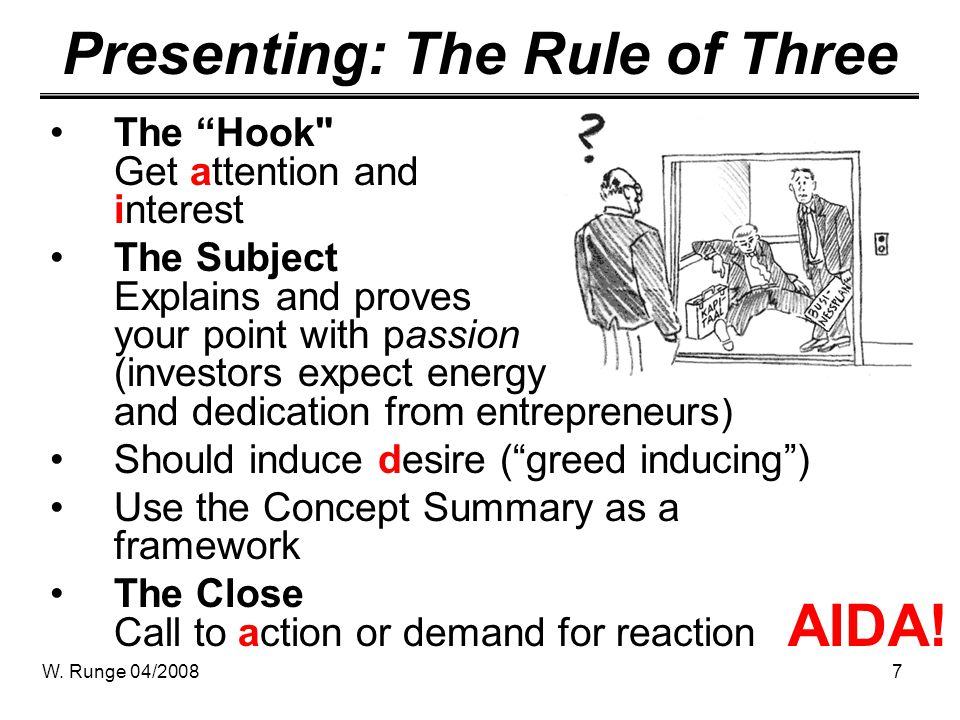 Presenting: The Rule of Three