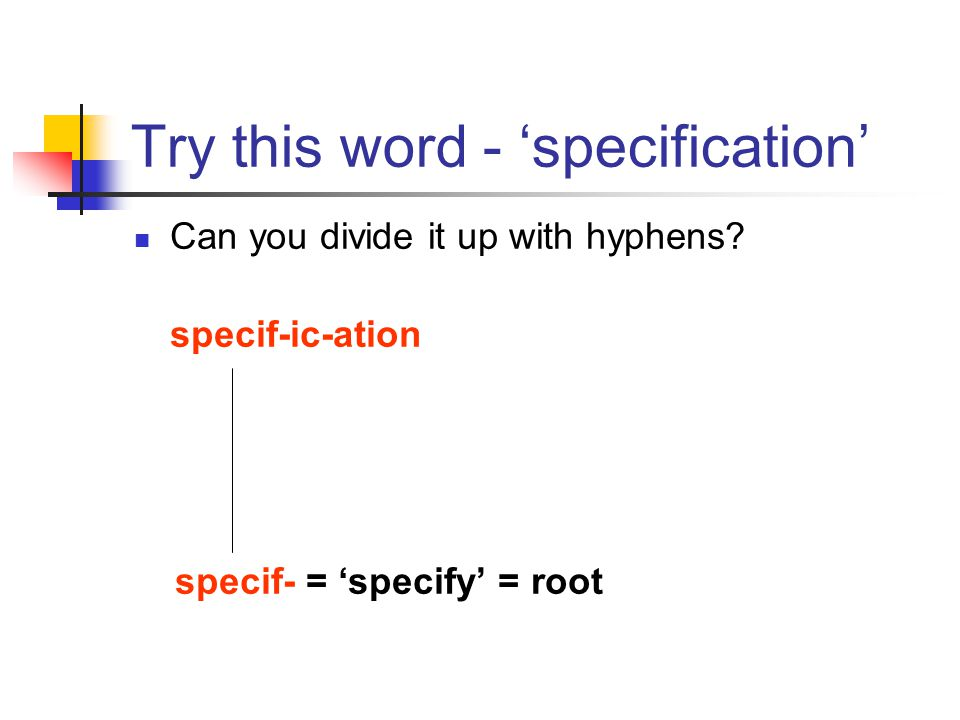 Try this word - 'specification'