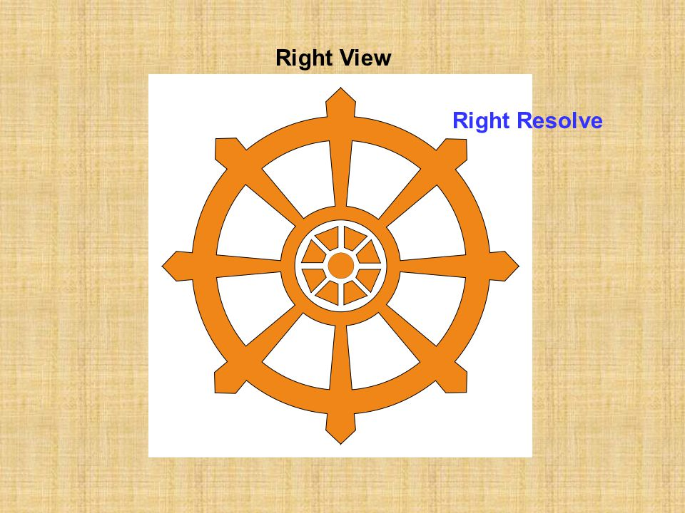 Right View Right Resolve
