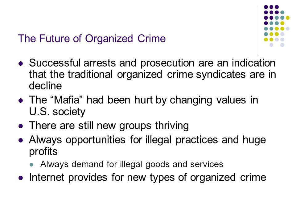 The Future of Organized Crime