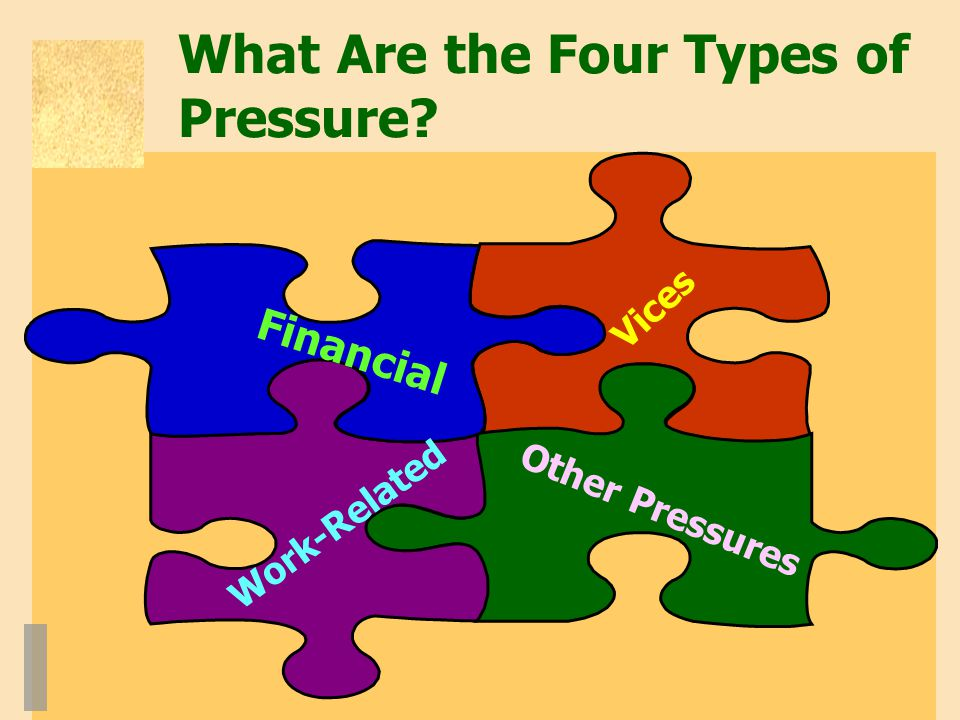 What Are the Four Types of Pressure